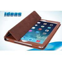 China Triangle Bracket Apple iPad Leather Cases / Apple Ipad Air Cover on sale