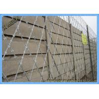 High Tensile Galvanized Binding Wire Mesh Easy To Install SGS Approved Manufactures