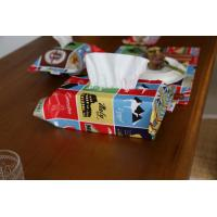 Cartoon Printed Decorative Tissue Box For Living Room Customized Color Manufactures