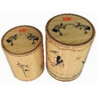 China Bamboo Storage Container on sale