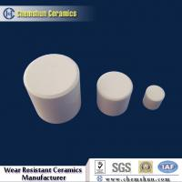 China Chemshun Alumina Ceramic Cylinder/Rods as Wear Resistant Linings Supplier on sale
