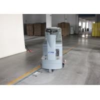 Three Seamless Anti - Skid Wheels Ride On Floor Cleaning Machines With Double Brush Manufactures