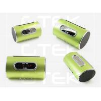 Digital Iphone 5 Cell Phone Bluetooth Speakers , Music Player Stereo Speaker Manufactures