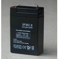 Sealed ABS Emergency Lighting Battery Replacement 12v 2.8ah for Emergency Lighting Systems Manufactures