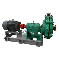 China Electric Cantilever Centrifugal Slurry Pump Single Suction High Wear Resistance Sludge Pump Types on sale