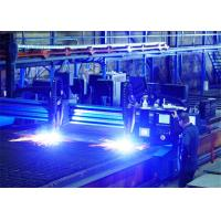 China Gantry type High Performance CNC Plasma Cutting Machine with Hypertherm EDGE PRO CNC system and Truehole System on sale