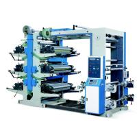 YT-6600 / 6800 / 61000 Six Colors Flexo Printing Machine Accurate Color Register Manufactures