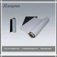 China Flexible Magnetic Sheet Rubberized Magnets with Lamination on sale