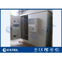 Three Bay Sandwich Steel Base Station Cabinet Outdoor IP65 With Heat Insulation Material Manufactures