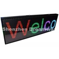 China USB Control PH5 Indoor Full Color LED Moving Display Board with 192×64 pixels on sale