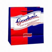 Promotional Carrier Bag for Shopping and Gift Purposes, Printing Services Provided, Eco-friendly Manufactures