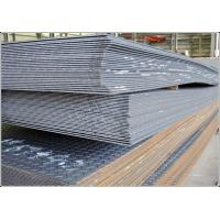 Stair Treads Diamond Plated Steel , 2.5mm / 3mm Thick JIS SS400 Metal Tread Plate  Manufactures