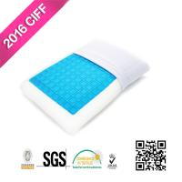 China Sleep Cool Cooling Gel Reversible Memory Foam Loft Pillow For Neck Pain | MEIMEIFU MATTRESS on sale