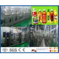 China Beverage Manufacturing Equipment Beverage Production Line Energy Saving Type on sale