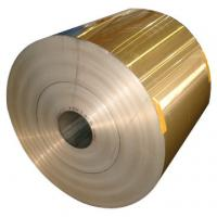 Fin Stock Hydrophilic Aluminium Foil 0.15MM Various Width With Blue / Golden Manufactures