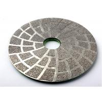 Vacuum Brazed 5 Inch Diamond Polishing Pads For Concrete Marble Stone Manufactures