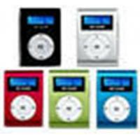 Clip MP3 Player With LCD Screen Manufactures