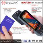 Integrated Handheld UHF RFID Reader , Waterproof Barcode Scanner Fingerprint Manufactures
