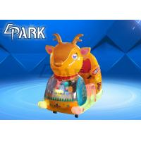 China Epark Cute Appearance Coin Pusher Happy Sleigh Swing Ride Kiddie Rides Game Machine on sale