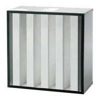 Washable 595 x 595 x 292mm H13 Aluminum high efficiency home mini pleat hepa filter for air purifier Manufactures