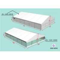 Soundproof 20x30m Aluminum Frame Tent With ABS SideWall Glass Sidewall Manufactures