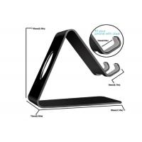 China Supermarket Acrylic Cell Phone Stand Black Acrylic Mobile Phone Holder on sale
