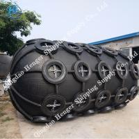Good Air Tightness Dark Pneumatic Marine Fender For Container Vessels CCS Manufactures