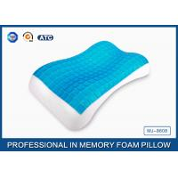 Antimicrobial PU Memory Foam Cooling Gel Pillow For Back / Side And Stomach Sleeper