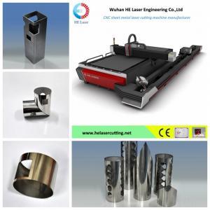 500w / 700w / 1000w Fiber Laser Pipe Cutting Machine  , Tube Laser Cutter Equipment Manufactures