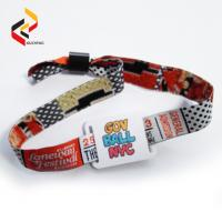 Adjustable NTAG213 Fabric Wristband Woven Wristband NFC Bracelet Manufactures