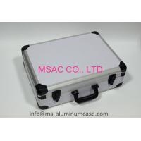 White Carrying Aluminum Storage Case , Small Aluminum Case 460 X 335 X 120mm Manufactures