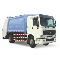 6 Wheels Waste Compactor Truck, 4x2 Drive Type Brand New Garbage Truck Manufactures