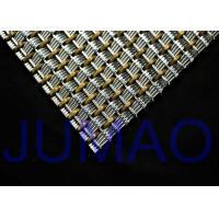 Elevator Car Architectural Metal Fabric Noncorroding With Bronze Alloys Manufactures