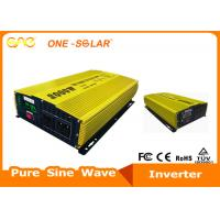 China High Frequency Off Grid Inverter Pure Sine Wave 3000W 12 / 24V To 220V Single Phase on sale