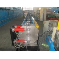 China Round Shape Stainless Steel Pipe Bending Machine , Gutter Roll Forming Machine PLC Control on sale