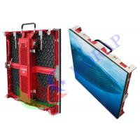 Pitch 4.81mm Full Color Black Large LED Signs For Indoor Rent Video Events Manufactures