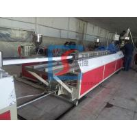 Pvc Profile Extrusion Line , Injection Moulding Machine 20-40 mm 180-1200 mm Manufactures