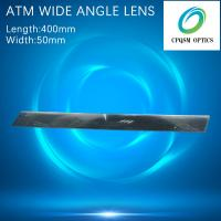 Quality ATM wide angle reflect fresnel lens back mirror speculum Cash Machine 400X50mm for sale