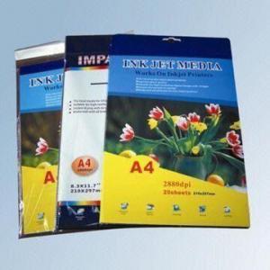China Waterproof High Glossy Photo Paper on sale