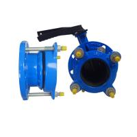 150-200 Microns Universal Coupling For Pvc Pipe Pe Pvc Flange Adaptor Manufactures