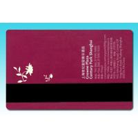 China Magnetic strip hotel door cards on sale