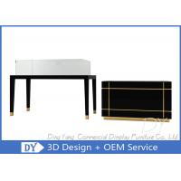 Black Color Jewellery Shop Showcase / Jewellery Showcase Display Manufactures