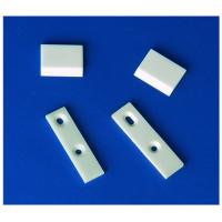 High Toughness White Textile Zirconia Ceramic Knife Blades For Mechanical / Textile Area Manufactures