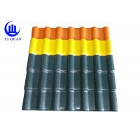 Looks Synonymous With Clay Roof Tile Bamboo Synthetic Resin Roof Tile Manufactures