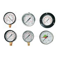 China -76cmHG - 1500Psi Pneumatic Air Pressure Gauge,Pressure Manometer 40mm-150mm Dial Size on sale