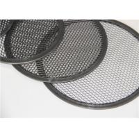 Quality Stainless Steel Food Service Metal Fabrication Pizza Screens For Baking 5x7 Inch for sale