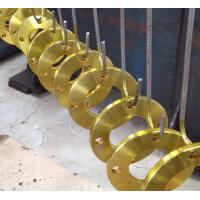 Compact Forged Steel Flanges , Aluminum Pipe Fittings With  Long Tapered Hub Manufactures
