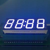 Common Anode  Ultra white 4 Digit 0.56inch 7 Segment LED Clock Display for digital timer controller Manufactures