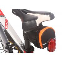 Waterproof Saddlebags For Bicycles , Seatpost Bags For Bicycles Large Capacity Manufactures
