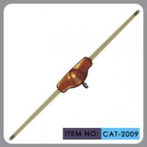 Custom Car Windshield Antenna , Car Electric Aerial Transparent Mast Manufactures